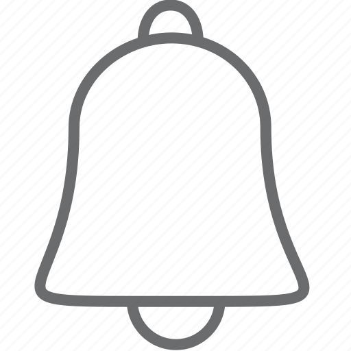 Bell, sound, notification, alarm, alert, warning, ring icon