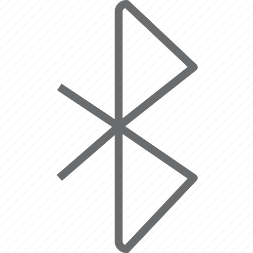 bluetooth, communication, connection, network, social icon