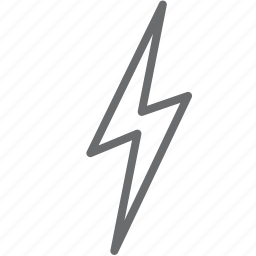 bolt, lightning, thunder icon