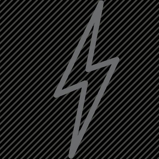 Bolt, thunder, lightning icon