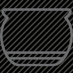 bowl, food, kitchen icon