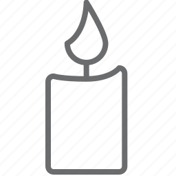 candle, candles, decoration icon
