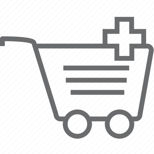 add, cart icon