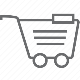 cart, remove icon