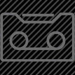 cassette, tape icon