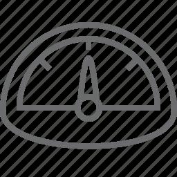 dashboard, measure, measurement, scale icon