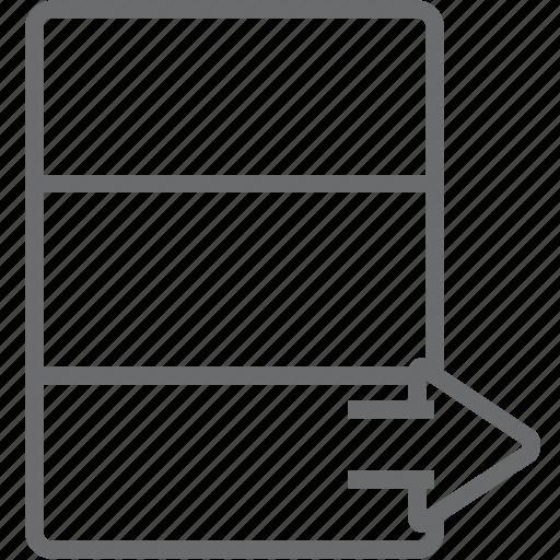 database, next icon
