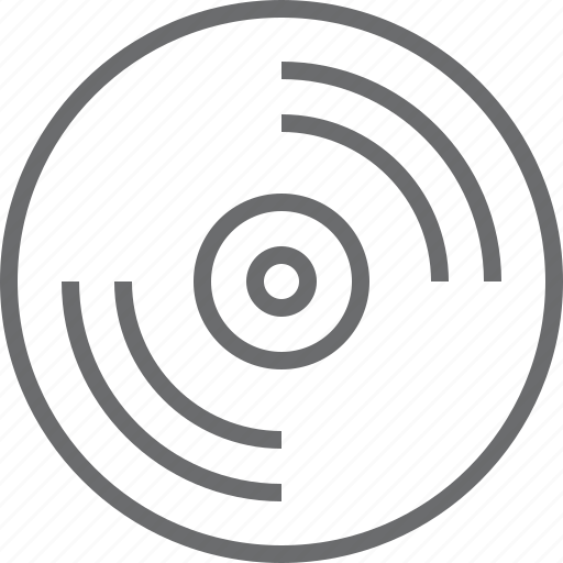 disc, media, music icon