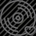 disc, love