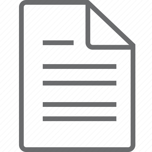 document, documents, paper icon