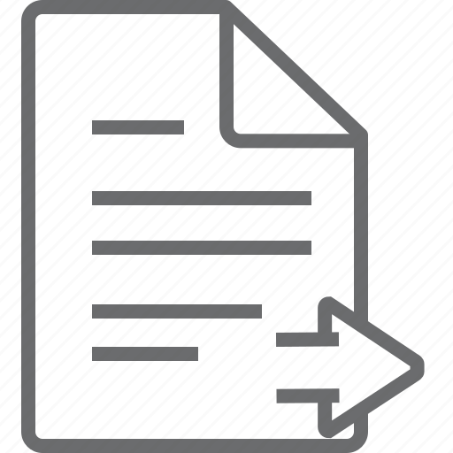 Document, right icon - Download on Iconfinder