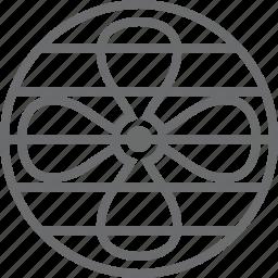 air, fan, wind icon
