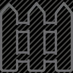 decoration, fence, garden icon
