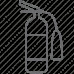 extinguisher, fire icon