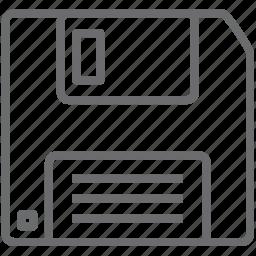 disc, floppy icon