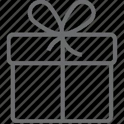 birthday, box, celebration, gift, package, present, xmas icon