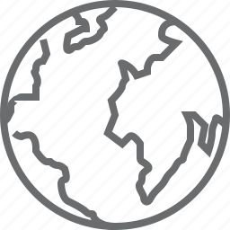 earth, global, globe, international, planet, plannet, world icon