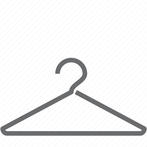 cloth, clothing, hang, hanger, shopping icon