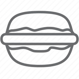 burger, hamburger, humburger icon