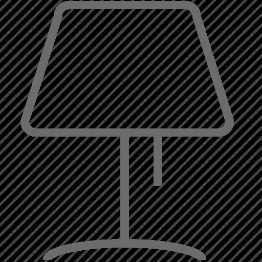 bulb, lamp, light, lightbulb, table icon