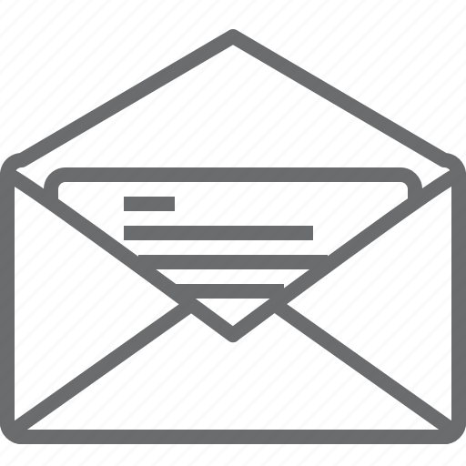 Mail, e, communication, inbox, chat, message, email icon