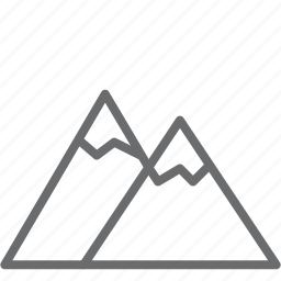 environment, mountain, moutain, nature icon