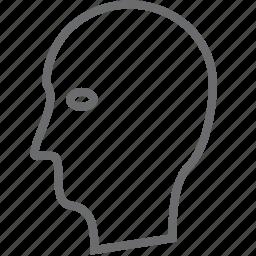 person, sideway icon