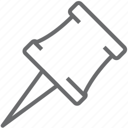 paper, pin icon
