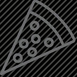 pizza, slice icon