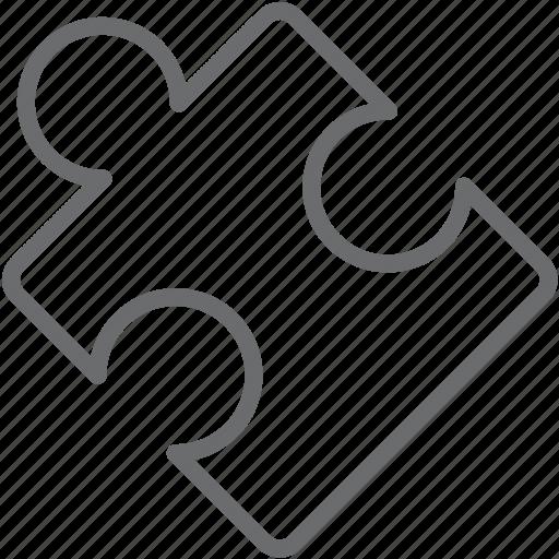 piece, puzzle icon