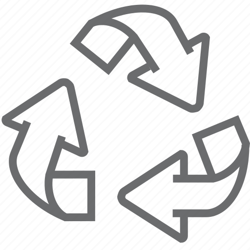 eco, environment, garbage, nature, recycle, recycling, trash icon