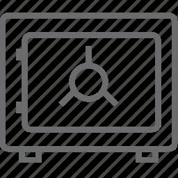 box, safe icon