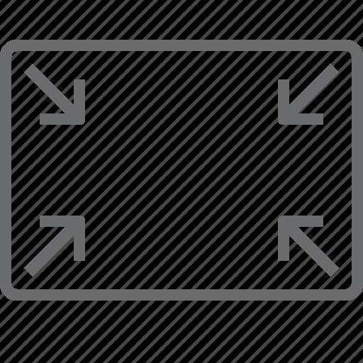 minimal, scale icon