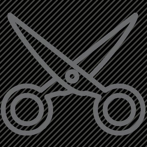 cut, scissor, scissors icon