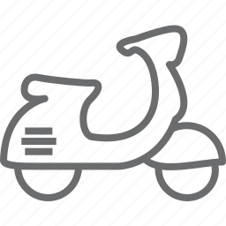 motorbike, motorcycle, scooter, vehicle icon