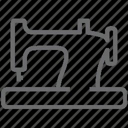machine, sewing icon