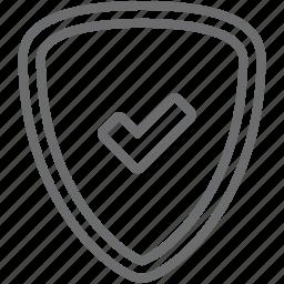 checked, shield icon