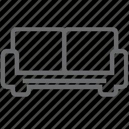 chair, furniture, interior, sofa icon