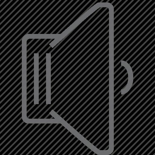 music, player, sound, speaker, volume icon