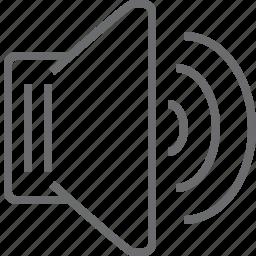 full, speaker icon
