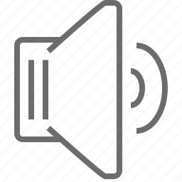 louder, speaker icon