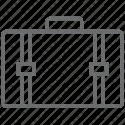 briefcase, office, suitecase icon