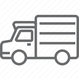 transport, truck, van, vehicle icon