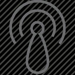 signal, wave, wifi, wireless icon
