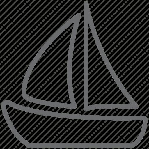 boat, ship, yacth icon
