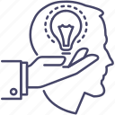 exchange, experience, idea, transfer icon