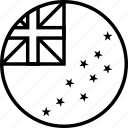 flag, nation, tuv, tuvalu, world
