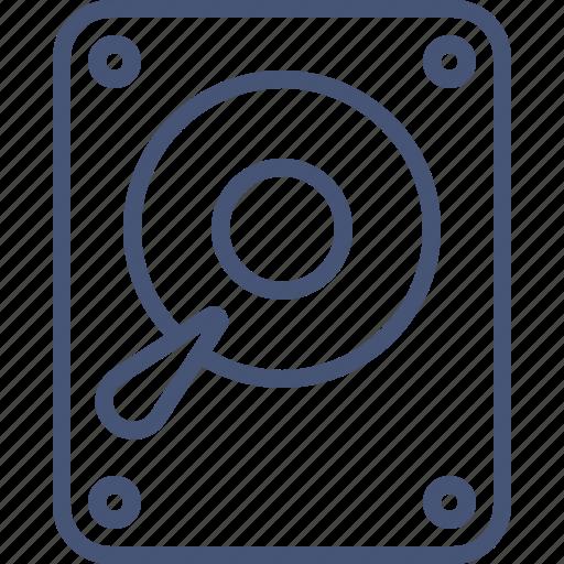 Data, disk, drive, hard, hdd, storage icon - Download on Iconfinder