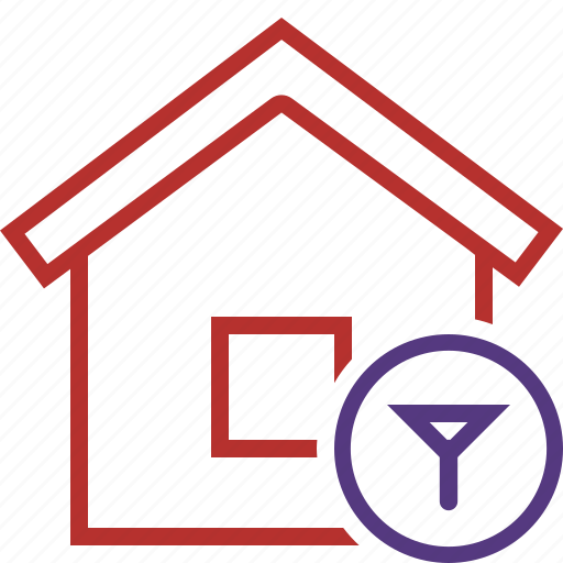 Address, building, filter, home, house icon - Download on Iconfinder