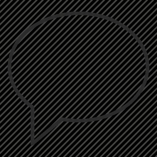 bubble, chat, comment, forum, message, notice, ui icon